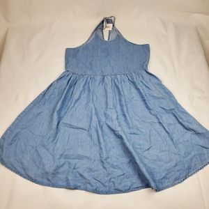NWT kismet denim racerback A-line dress